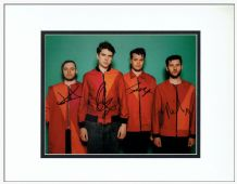 Everything Everything Autograph Signed Photo